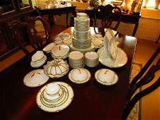 Noritake Shirley Pattern Dinnerware China Set113