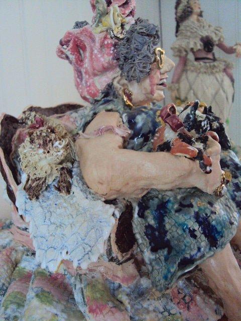 """D.M.Z. Coyle """"Abigail"""" Sculpture - 10"""