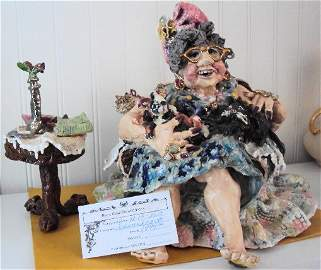 """D.M.Z. Coyle """"Abigail"""" Sculpture"""