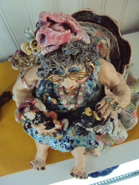 """D.M.Z. Coyle """"Abigail"""" Sculpture - 9"""