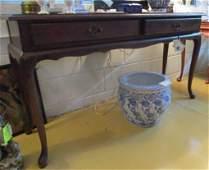 Queen Ann Sofa/Console Table
