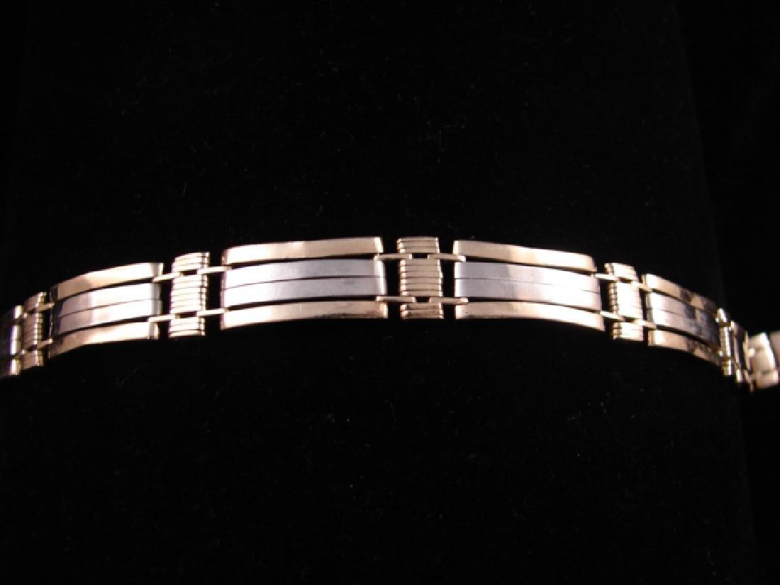 14k Yellow Gold Link Bracelet