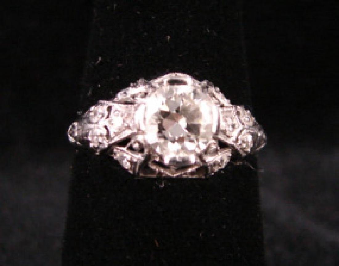 Platinum Diamond Dinner Ring