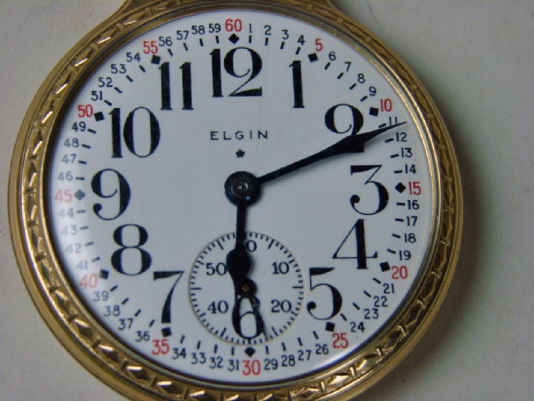 Elgin 21 Jewel Pocket Watch - 2