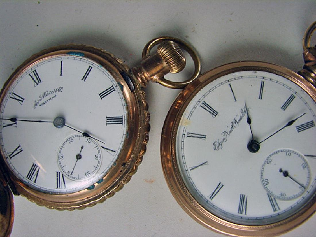 Two 15 Jewel Hunt Case Pocket Watches - 2