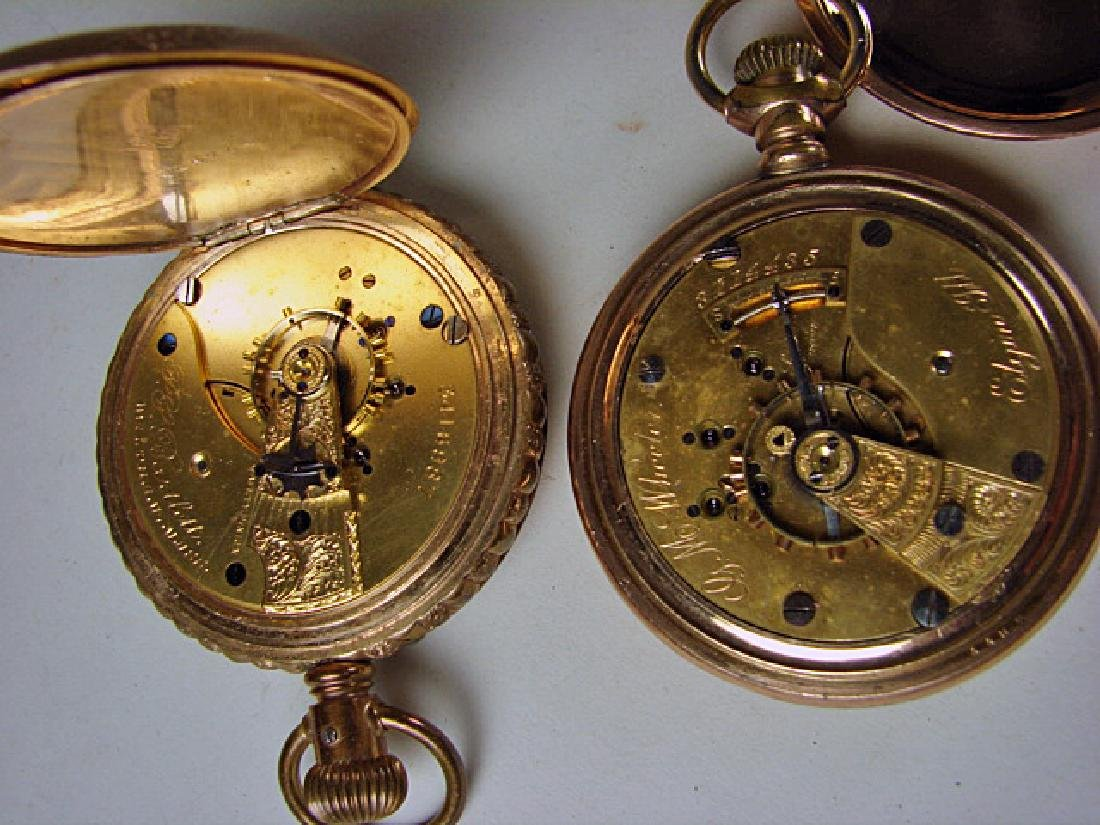 Two 15 Jewel Hunt Case Pocket Watches - 3