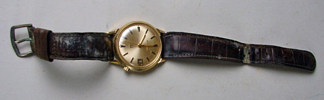 1960s 14K Gold Men's Bulova Accuttron Wristwatch