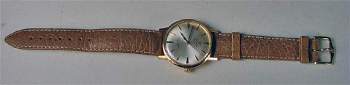 1960s 18K Gold Men's Omega Sea Master DeVille Automatic