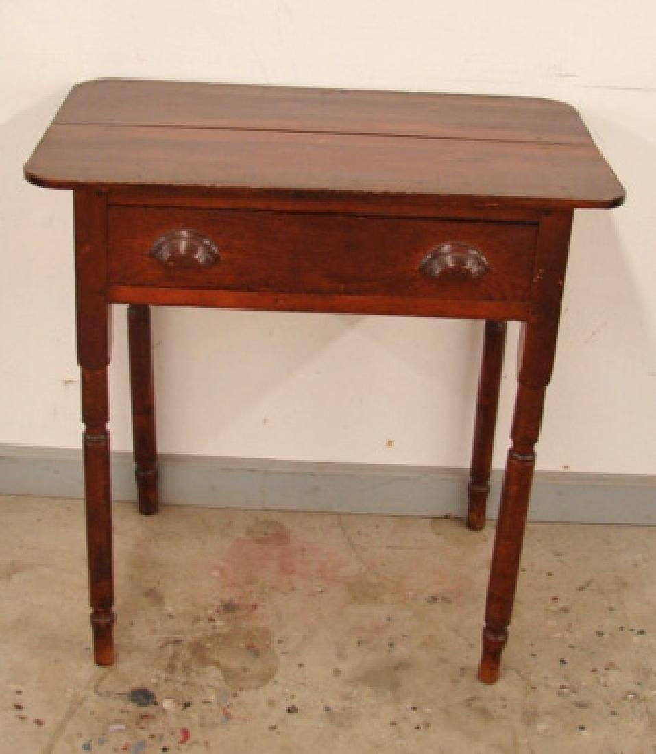 Floyd County, Virginia One Drawer Stand