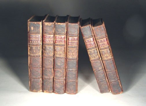 9: Johnson. Works of Johnson, 6v, 1716