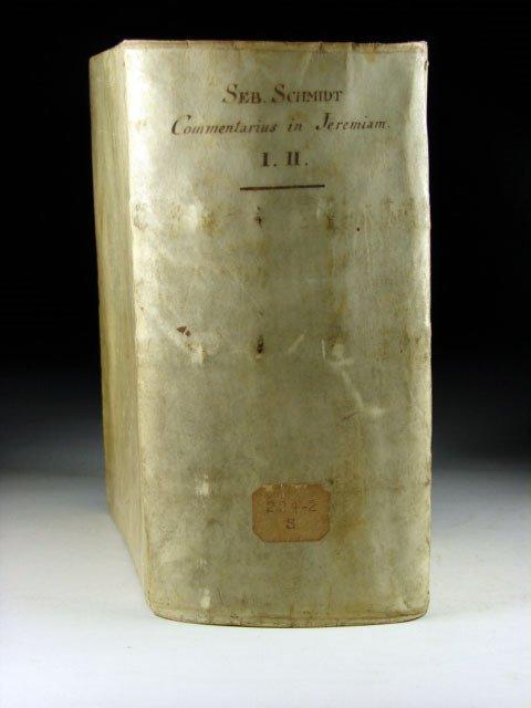 285: Schmidt. Commentarii in Librum Prophetiarum,  1706