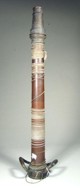 455: Brass Fire Nozzle