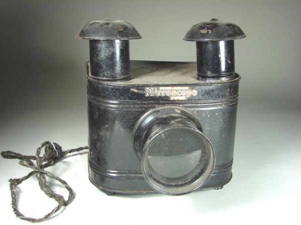 456: Early 20th Century Slide Projector