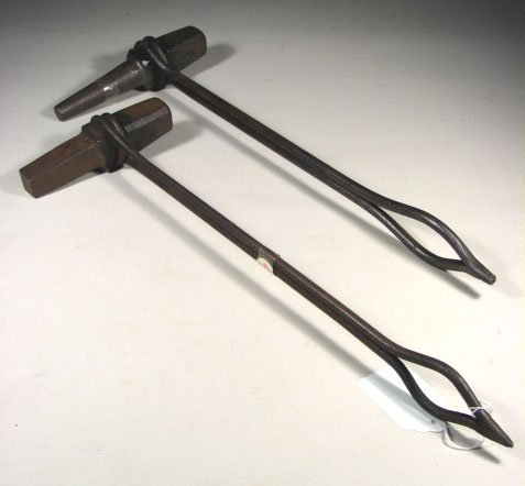 464: Blacksmith Punches with Wrought Iron Handles