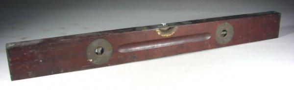 466: Stanley #25 Carpenters Adjustable Plum & Level