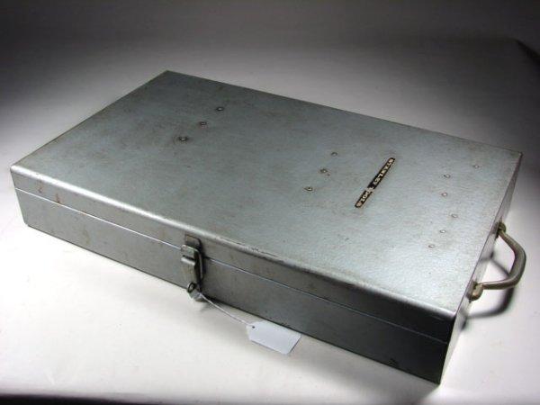 477: Stanley Steel Tool Cabinet