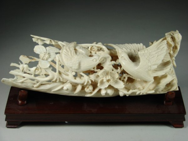 764: Ivory Two In One Sculpture