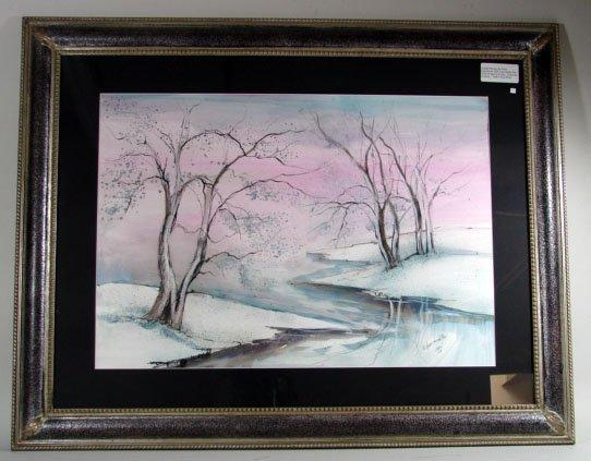 769: Large Anna Sandhu Ray Watercolor