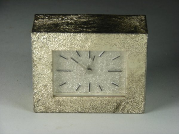 775: Tiffany and Company Deco Style Desk Clock