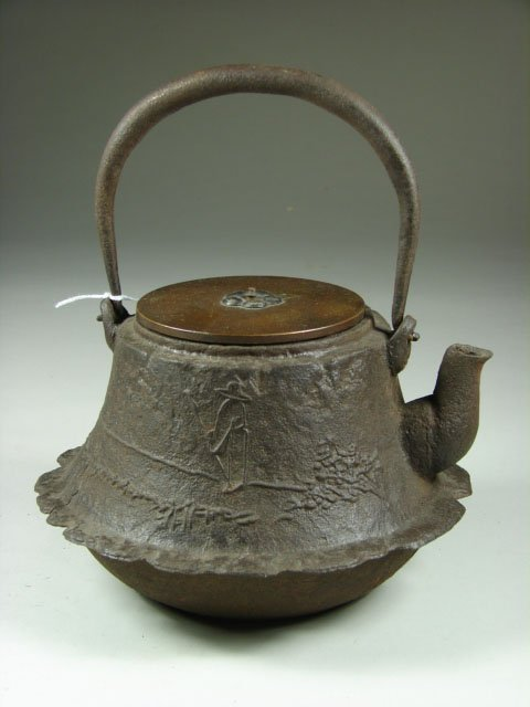 777: Early Japanese Cast Iron Teapot