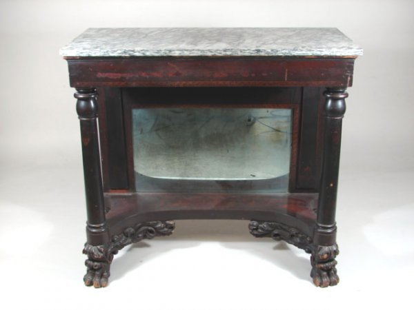 910: Early 19th Century Marble Pier Table