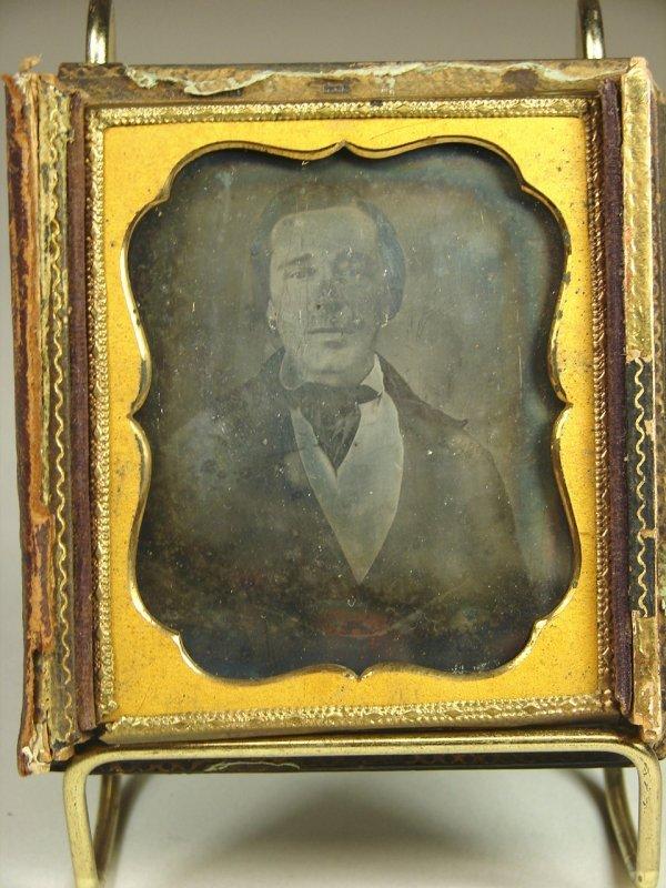 5: 1/6th Plate Daguerreotype of Man