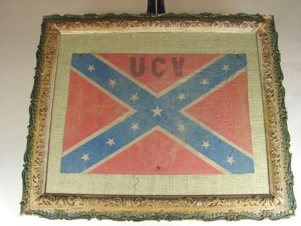16: Miniature Confederate Flag