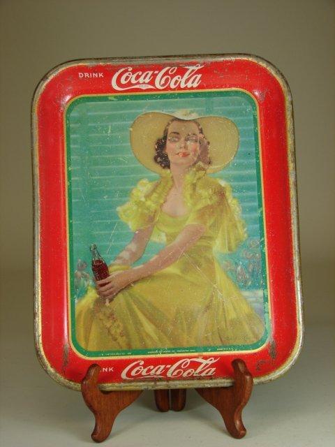 207: 1938 Coca Cola Tray \