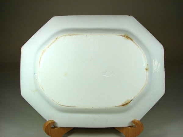 24B: Large White Ironstone Platter - 2