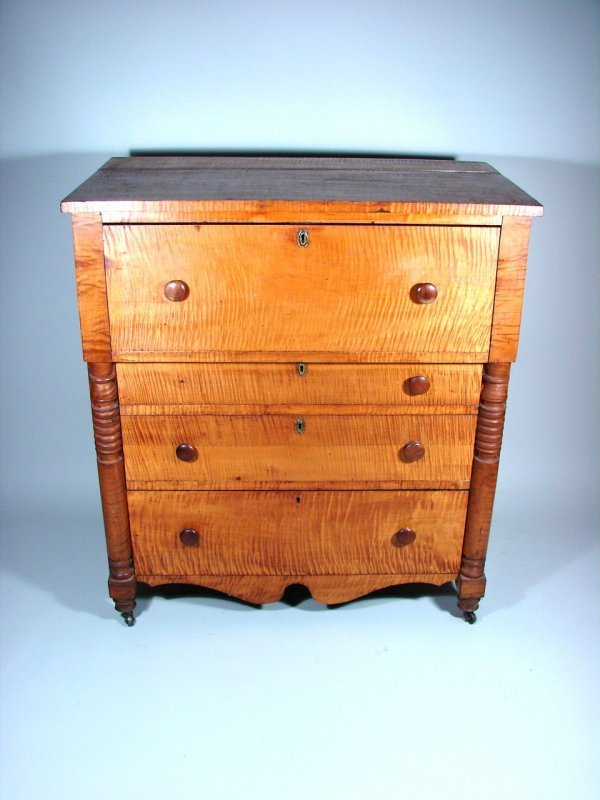 237B: Curly Maple Chest