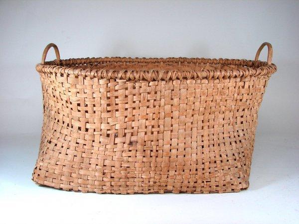 339B: Large Cotton Harvest Basket