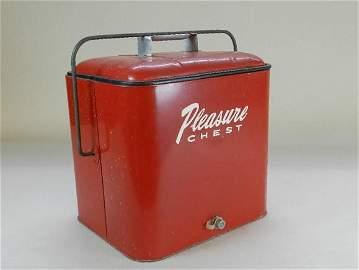 Vintage Pleasure Chest Cooler