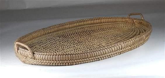 Rare Large Wythe Co, VA Tray/Herb Basket