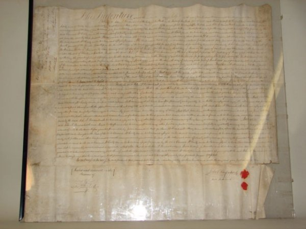809: Deed Dated 1812 signed by John A Hardenbrook