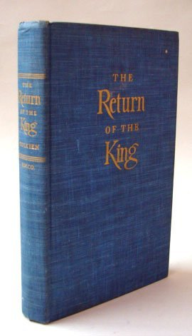 910: Tolkein, JRR. The Return of the King, 1st Edition.