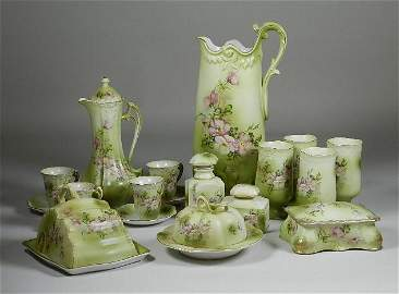 15 Piece Set of Hand Painted Nippon