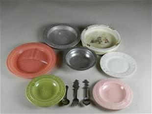 Vintage Children's Plates