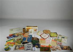 Assorted Advertising Items