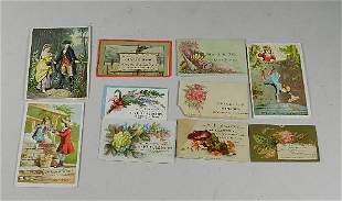 Victorian Trade Cards & Calling Cards
