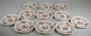 11 Spode Aster Plates