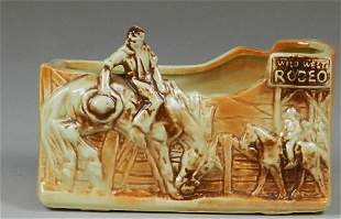 McCoy Wild West Rodeo Planter