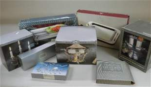 Group of Assorted Silver Plate in Boxes