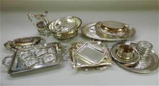 Group of Assorted Silver Plate
