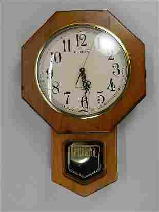 Ingraham Regulator Style Clock
