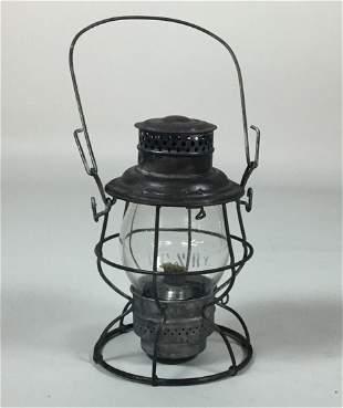 Virginian Railway Adams & Westlake Tall Globe lantern