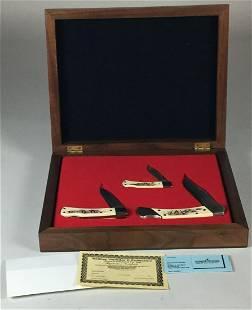 Schrade Cutlery 3 Rolling Thunder II Pocket Knives