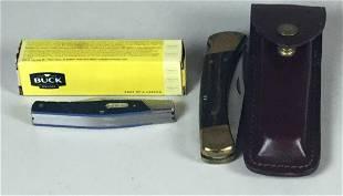 Buck 110 & 371 Pocket Knives