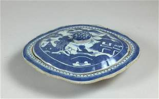 Chinese Export Canton Vegetable Tureen