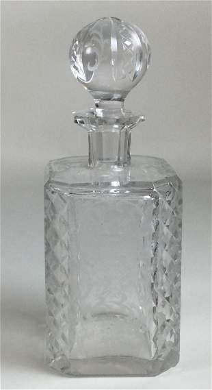 Cut Crystal Decanter