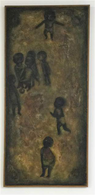 Oil Painting on Canvas by George Bahgoury
